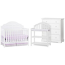 image of child craft penelope nursery furniture collection in matte white