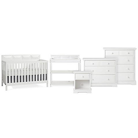 Child Craft Elin Baby Furniture Collection In Matte White Buybuy Baby