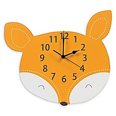 image of Trend Lab® Forest Tales Fox Wall Clock in Orange