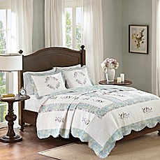 image of Madison Park Cordelia Coverlet Set