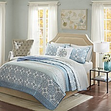 image of Madison Park Sybil Coverlet Set