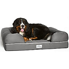 image of PetFusion™ Ultimate Pet Bed and Lounge in Grey