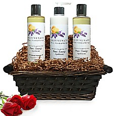 image of Pure Energy Apothecary Moisture Madness Pure Aromatherapy Gift Set with Basket