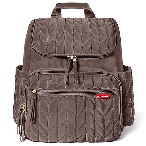 skip hop forma backpack diaper bag in latte buybuy baby. Black Bedroom Furniture Sets. Home Design Ideas