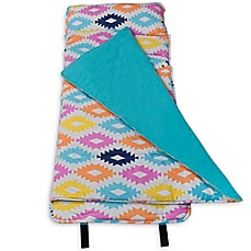 image of Wildkin Aztec Original Nap Mat in Blue