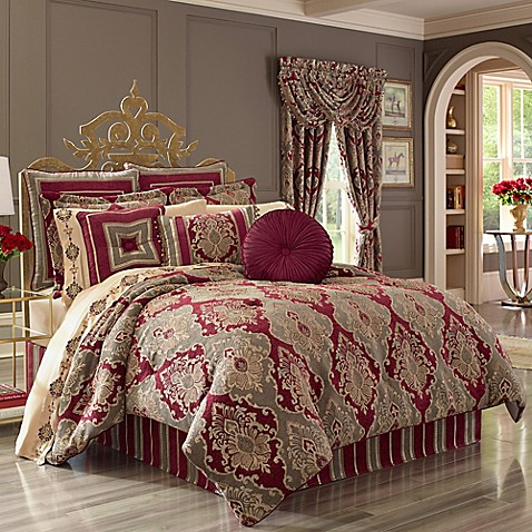 Buy J Queen New York Crimson California King Comforter