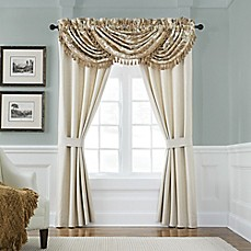image of Croscill® Nadalia Waterfall Window Valance in Gold