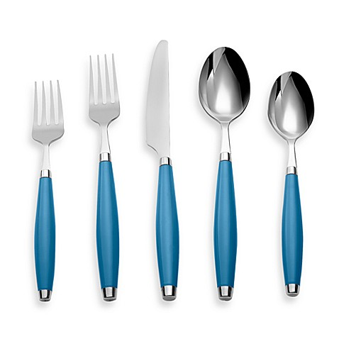 Fiesta® by Cambridge® 5-Piece Flatware Place Setting in Peacock