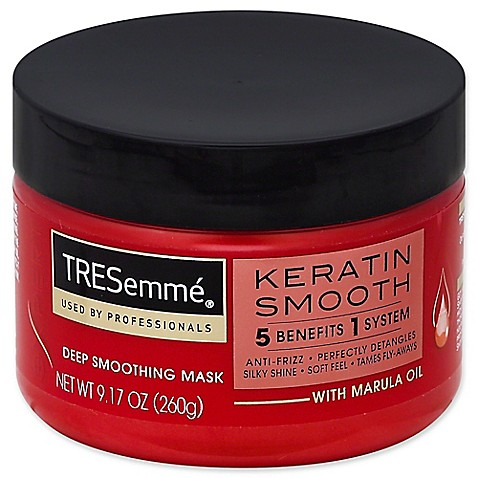 how to use tresemme keratin smooth mask