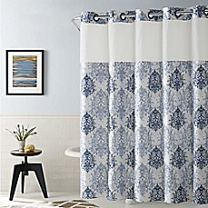 image of Hookless® Ikat Shower Curtain