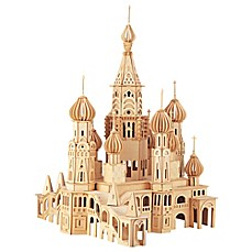 image of St. Petersburg Church 705-Piece 3D Wooden Puzzle