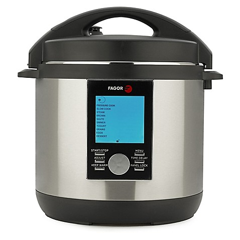 buy fagor lux 4 qt multi cooker with accessories in stainless steel from bed bath beyond. Black Bedroom Furniture Sets. Home Design Ideas