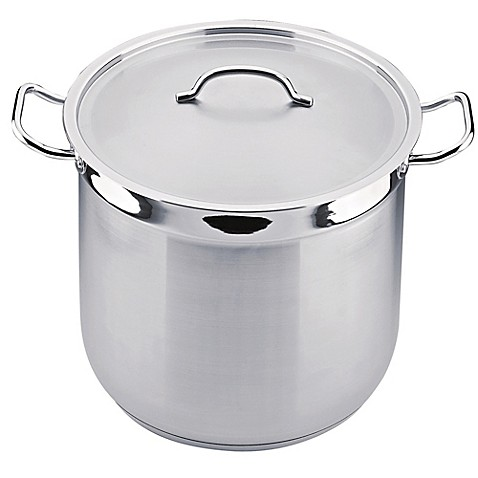 BergHOFF® Hotel Line 16 qt. Covered Stock Pot