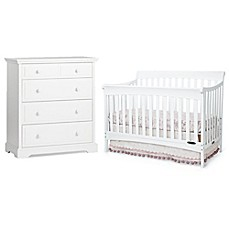 Image Of Child Craft™ Coventry Nursery Furniture Collection In Matte White