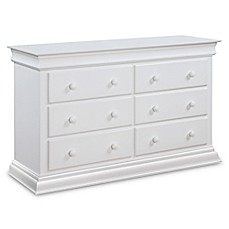 image of Bailey 6-Drawer Double Dresser in White