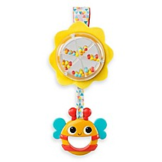 image of Bright Starts™ Spin & Rattle Bee in Yellow