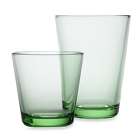 iittala kartio glassware in apple green bed bath beyond. Black Bedroom Furniture Sets. Home Design Ideas