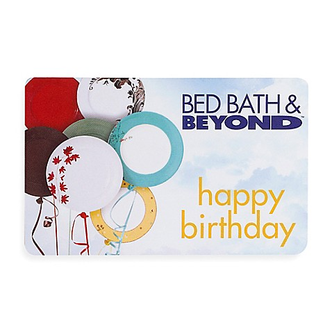 """happy birthday"" Balloons Gift Card $100"