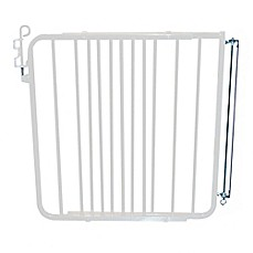 image of Cardinal Gates Aluminum Auto-Lock Gate in White