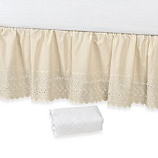 image of Vintage Chic™ Eyelet 14-Inch Bed Skirt