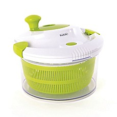 image of BergHOFF® CooknCo Salad Slicer & Spinner in Green/White