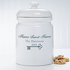 image of Key To Our Home 10.5-Inch Cookie Jar
