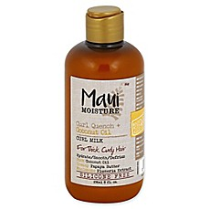 image of Maui Moisture Curl Quench + Coconut Oil 8 fl. oz. Curl Milk for Thick Curly Hair