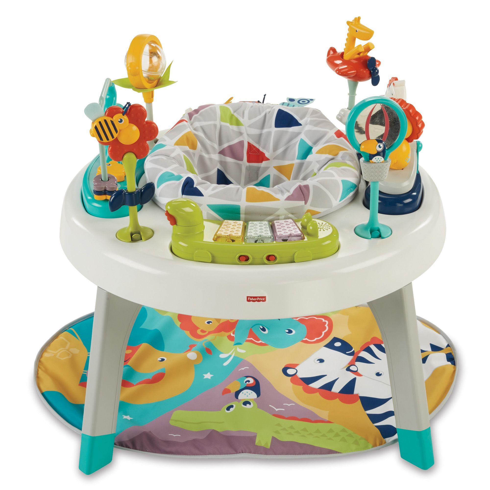 Fisher Price 3 in 1 Sit to Stand Activity Center BABY