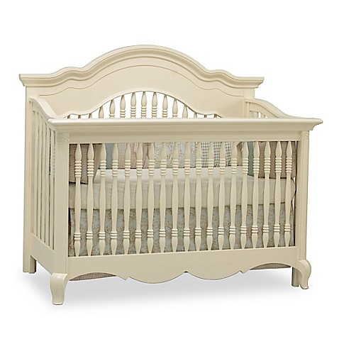 Suite Bebe Julia 4 In 1 Convertible Crib In White Linen