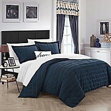 image of Chic Home Calamba Duvet Cover Set