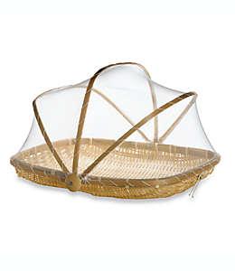 Cubierta de bambú para alimentos Destination Summer