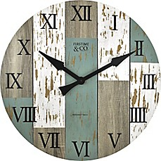 image of FirsTime® Timberworks 27-Inch Distressed Wall Clock