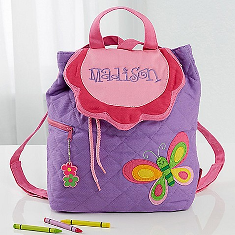 Butterfly Embroidered Kid S Sidekick Backpack By Stephen
