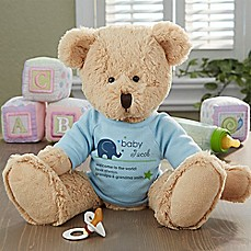 image of New Arrival Baby Teddy Bear in Blue
