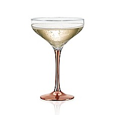 image of Artland® Coppertino Champagne Coupe (Set of 4)