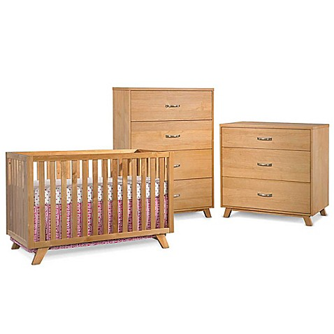 Child craft soho nursery furniture collection in natural for Child craft soho crib natural