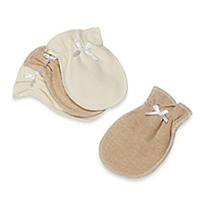 image of Organic Cotton Mittens in 2 Pairs
