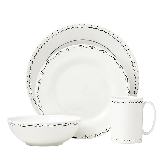 kate spade new york Union Square™ Doodle Dinnerware Collection