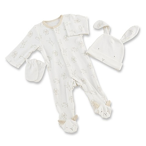 3 of my fav clothing for my son, it's easy and convenience to wear then especially the convertible from overall to gown and mitten cuffs is a must and better than just mittens. They are 3 of size 3 mo.