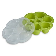 image of Beaba® Multiportions 30-Ounce Freezer Tray in Neon