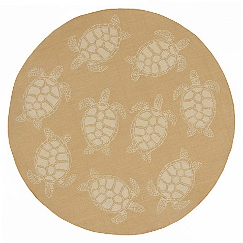 Buy Lionra Mane Seaturtle 7 Foot 10 Inch Round Area Rug In