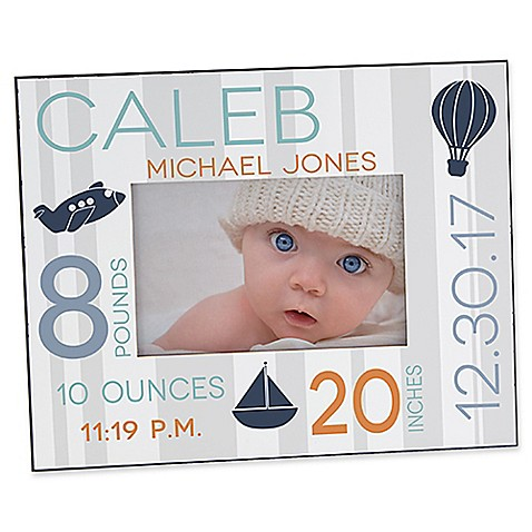 Sweet Baby Boy 4-Inch x 6-Inch Picture Frame - Bed Bath & Beyond