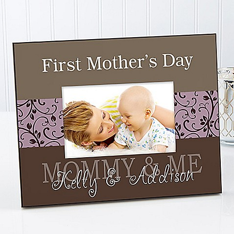 Mommy & Me 8-Inch x 10-Inch Large Picture Frame - Bed Bath & Beyond