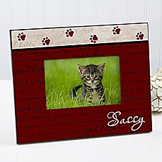 image of Good Kitty 4-Inch x 6-Inch Picture Frame