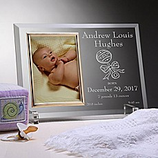 image of Birth Announcement Picture Frame