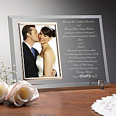 image of Wedding Invitation Picture Frame