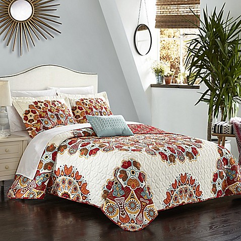 Chic Home Demesne Reversible Quilt Set