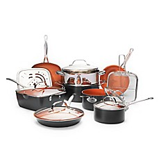 image of Gotham™ Steel Ti-Cerama™ Nonstick 15-Piece Cookware Set