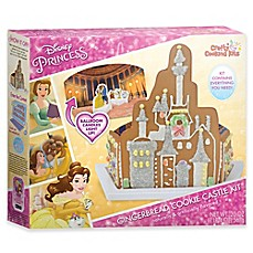 image of Disney® Beauty and the Beast Gingerbread Cookie Castle Set