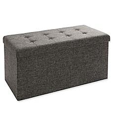 Storage Benches Ottomans Amp Cubes Pouf Bed Bath Amp Beyond